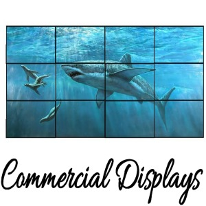 Commercial Displays & Whiteboards